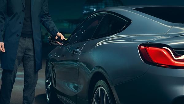 BMW Digital Key.