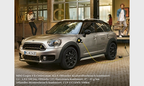 Foto der News Der MINI Countryman Plug-In Hybrid.