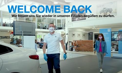 Foto der News Welcome back – unsere Filialen öffnen wieder