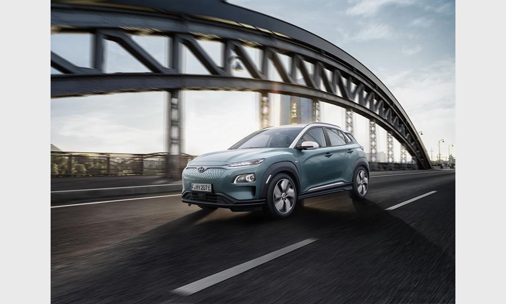 Auszeichnung für den Hyundai Kona Elektro bei den TopGear Electric Awards