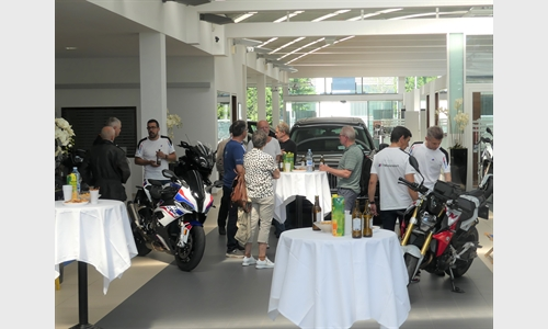 Foto der News Unterberger Motorrad-Brunch