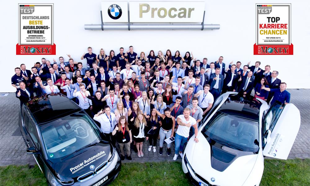 Auszeichnung Quot Top Karrierechancen Quot F 252 R Procar Automobile