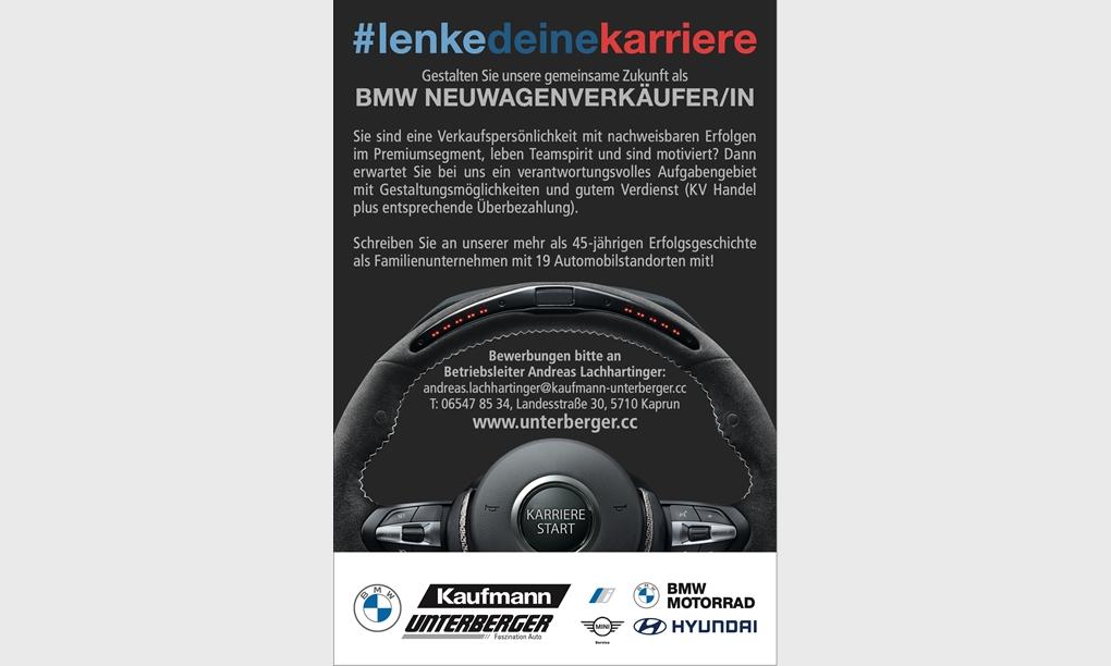 Foto des Stellenangebots BMW NEUWAGENVERKÄUFER/IN