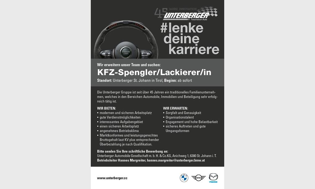 Foto des Stellenangebots KFZ-Spengler/Lackierer/in