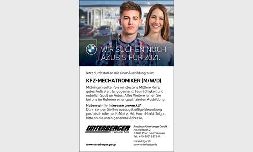 Foto des Stellenangebots Ausbildung zum: KFZ-MECHATRONIKER (M/W/D)