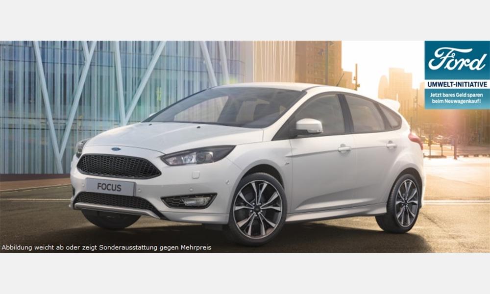 Ford Focus Trend 1,6-l-Ti-VCT für 12.400€