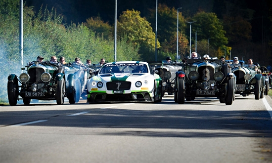 Bild der News BENTLEY BEI DER JOCHPASS-MEMORIAL & HISTORIC-RALLYE
