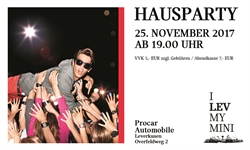 Foto des Events I LEV MY MINI - Die MINI Hausparty bei Procar Leverkusen