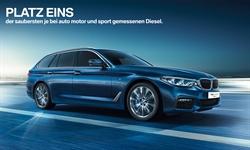 Foto der News Der neue BMW 5er Touring - Platz 1 für den saubersten je gemessenen Diesel*