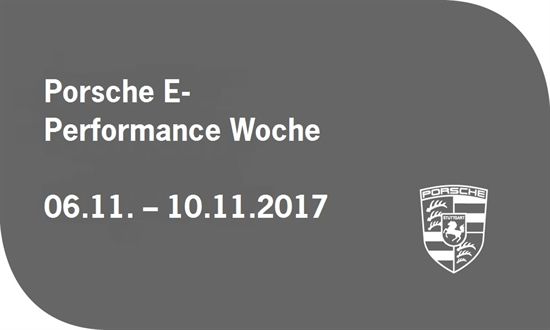 Foto des Events Porsche E-Performance Woche