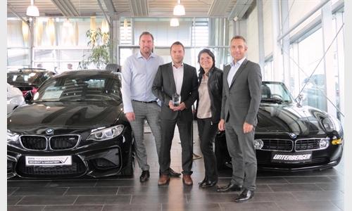 Foto der News Unterberger Rosenheim: Stephan Bleicher ist einer der strahlenden Sieger der BMW Bank Stars 2017