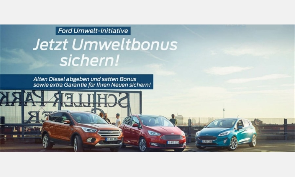 Umweltprämie bei Ford
