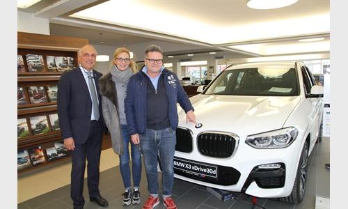 Foto der News Unterberger-Denzel präsentierte seinen Kunden die dritte Generation des Millionensellers BMW X3