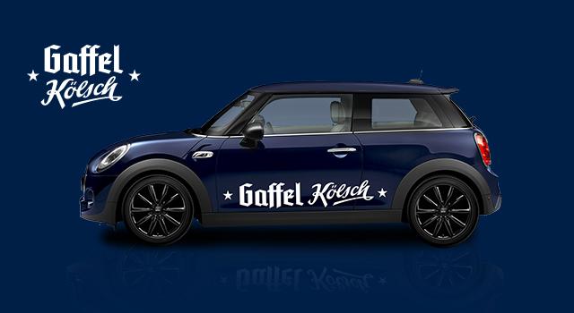 "MINI ONE 3-Türer im Design ""Gaffel Kölsch"""
