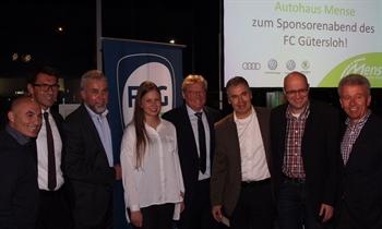 Foto der News FCG-Abend mit 100 Gästen und viel FC St. Pauli