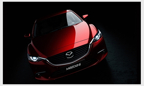 Foto der News Mazda6 Facelift: Premiere in LA