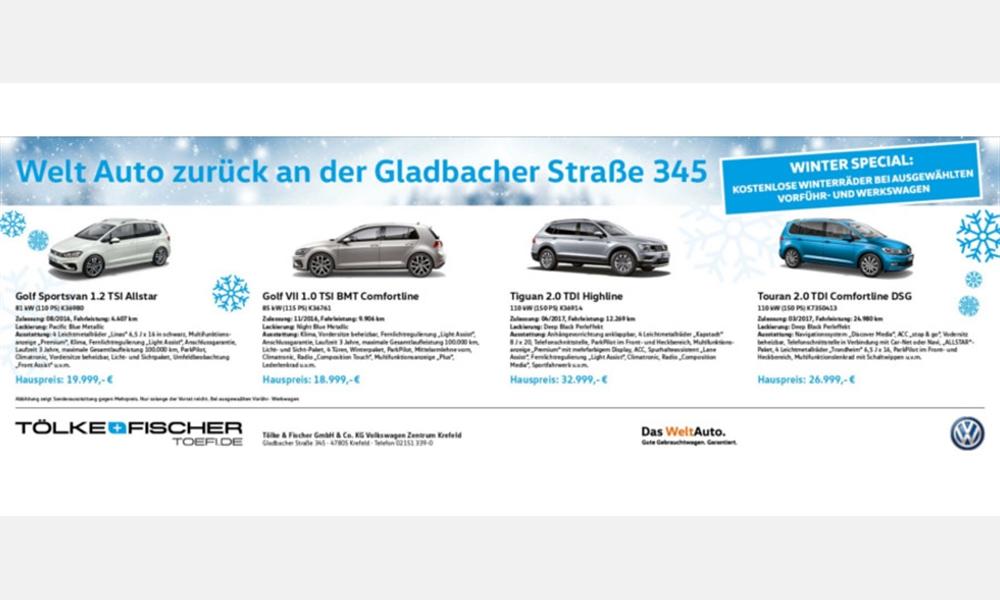 Volkswagen Angebote - Winter Special