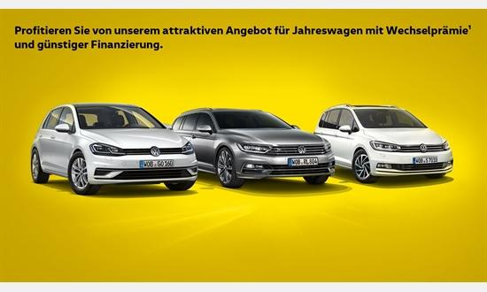 Foto des Serviceangebots Wechselprämie¹ für VW Jahreswagen