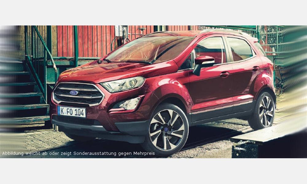 Ford EcoSport Trend 1,0-l-EcoBoost für 149€ im Monat