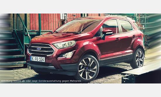 Foto des Serviceangebots Ford EcoSport Trend 1,0-l-EcoBoost für 149€ im Monat