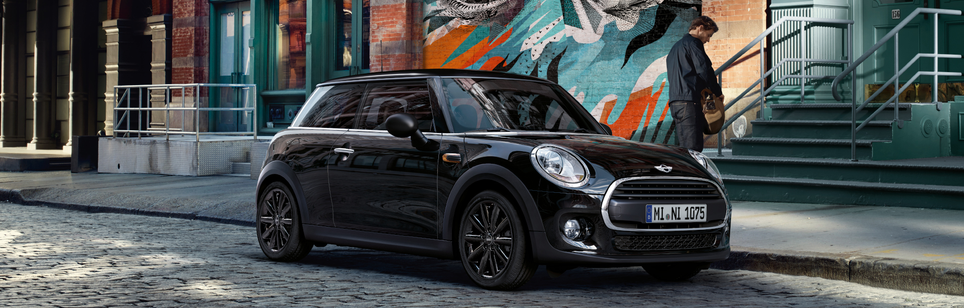 MINI One 3-Türer Sondermodell Blackyard