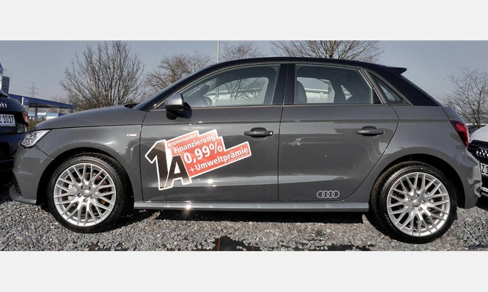 Audi A1 Sportback Sport 1.4 TFSI für 99,00 € im Monat