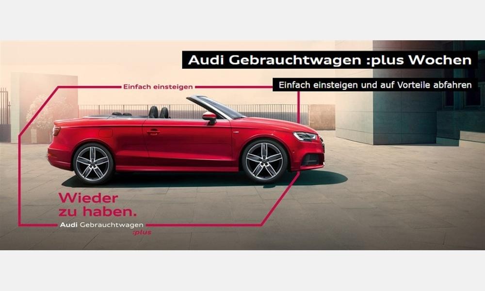 Audi A3 Cabriolet 1.4 TFSI für 269 € im Monat
