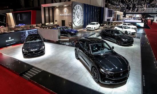 Bild der News Maserati auf dem Genfer Autosalon 2018