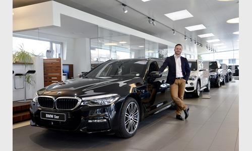 Foto der News Aufstieg bei BMW Unterberger Nenzing