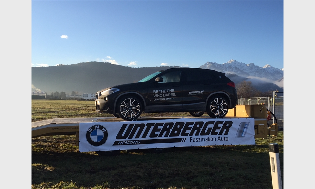 Unterberger begrüßt Autofrühling mit dem neuen BMW X2