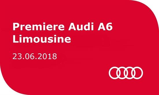 Foto des Events Premiere Audi A6 Limousine