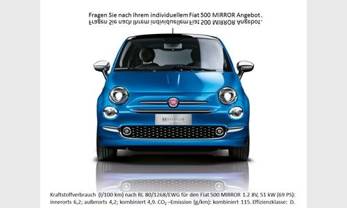 Foto der News Der neue FIAT 500 MIRROR