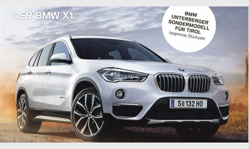 Foto der News BMW X1 Unterberger-Edition