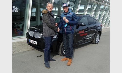 Dominik Landertinger startet mit einem neuen BMW in den Sommer