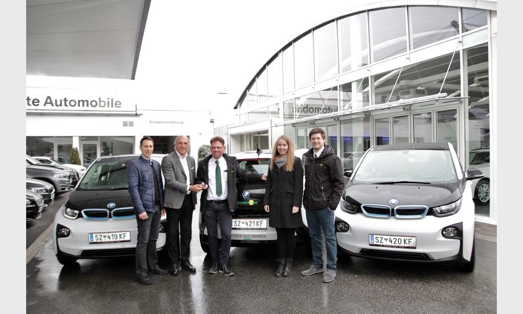 Mobile Nachhaltigkeit: Ledermair fährt elektrisch