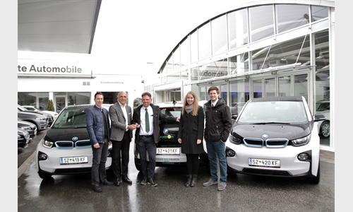 Foto der News Mobile Nachhaltigkeit: Ledermair fährt elektrisch