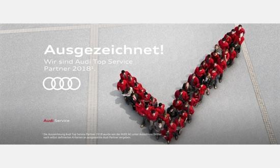 Foto der News Wir sind Audi Top Service Partner 2018