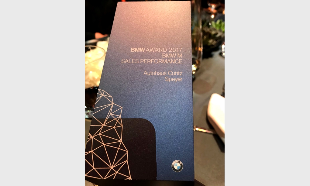 BMW AWARD 2017.
