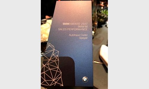 Foto der News BMW AWARD 2017.