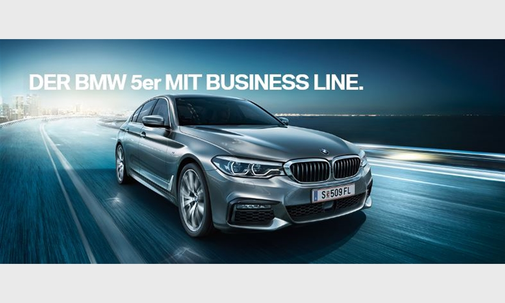 Der BMW 5er mit Business Line