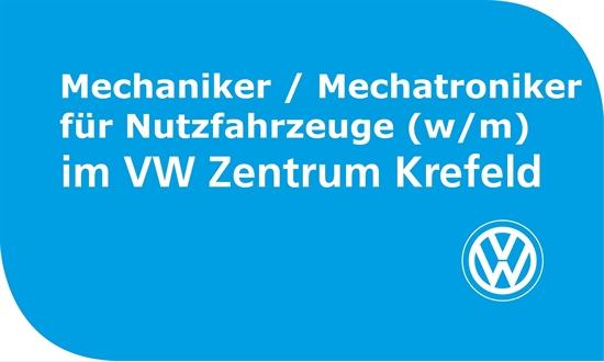 Foto des Stellenangebots Mechaniker/Mechatroniker Nutzfahrzeuge (w/m) Volkswagen Zentrum Krefeld
