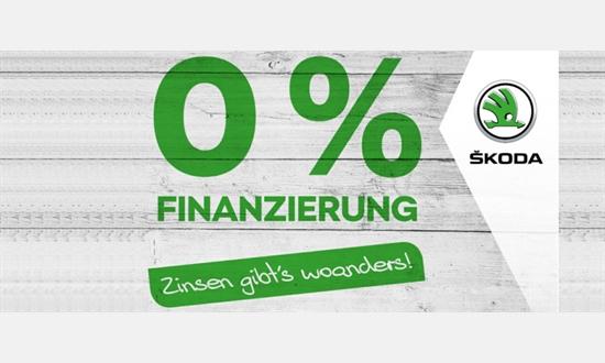 Foto des Serviceangebots Null Prozent Finanzierung bei Skoda