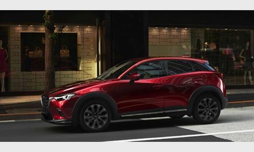 Foto der News Frischer CX-3 feiert Weltpremiere auf der New York Auto Show