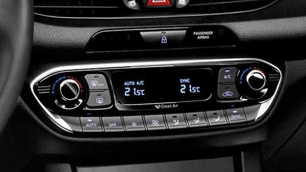 2-Zonen-Klimaautomatik