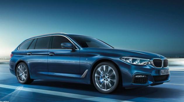 Der neue BMW 520d Touring
