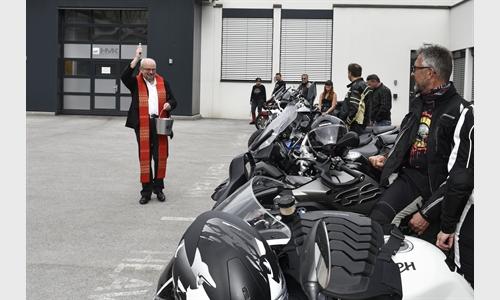 Foto der News Motorradweihe & Terrassenopening in Kufstein