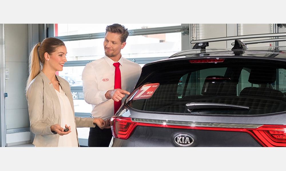 7-Jahre-Kia-Herstellergarantie