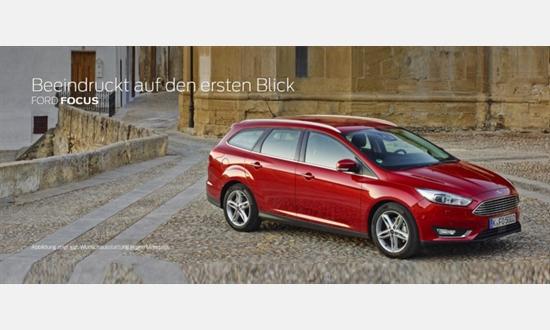 Foto des Serviceangebots Ford Focus Turnier Trend 1,0-l-EcoBoost für 149€ im Monat
