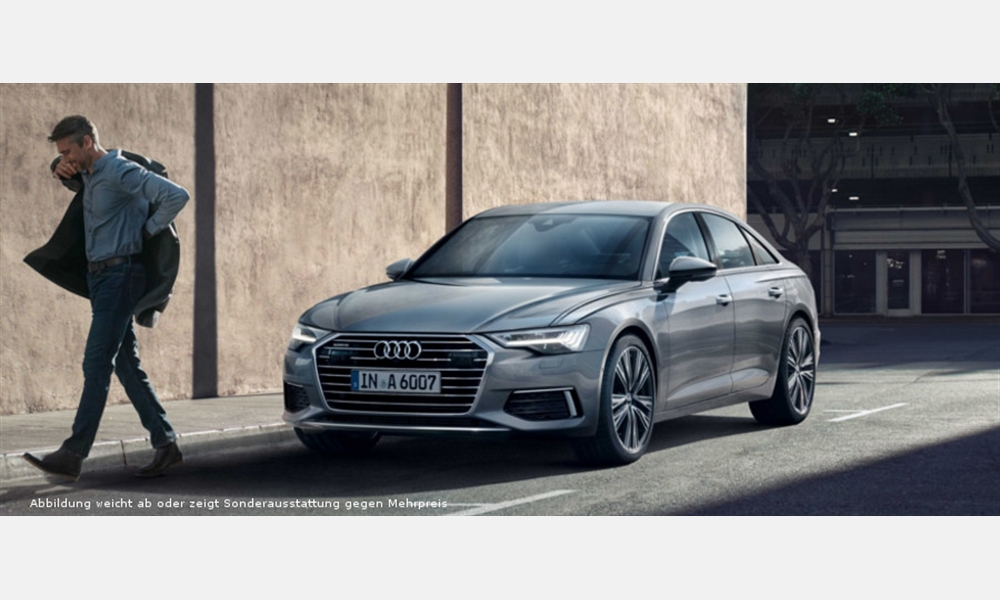 Audi A6 Limousine 50 TDI für 549€ im Monat
