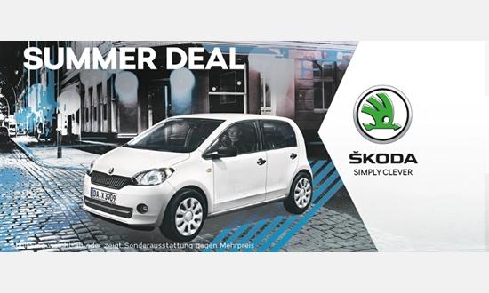 Foto des Serviceangebots Škoda Citigo Cool & Sound 1.0 MPI für 7990€